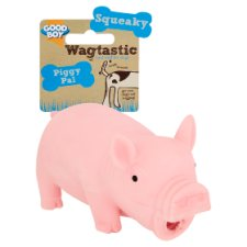 Wagtastic Piggy Pal Dog Toy