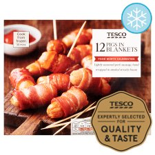 Tesco 12 Pigs In Blankets 240G