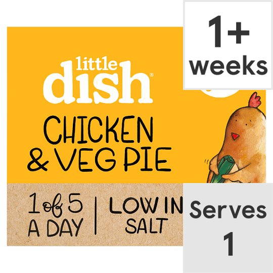Little Dish 1Yr+ Chicken Pie Ready Meal 200G