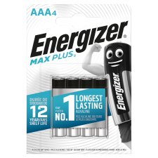 Energizer Max Plus Aaa 4 Pack