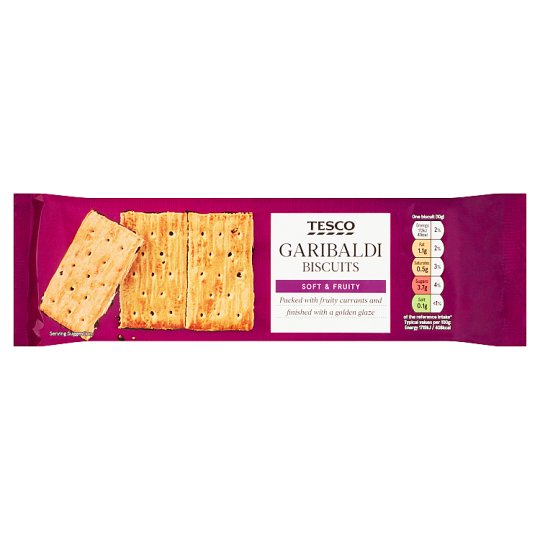 Tesco Garibaldi Biscuits 200G