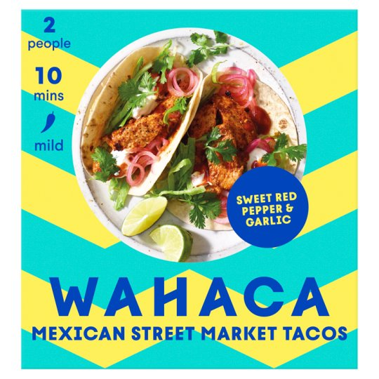 Wahaca Fruity And Mellow Soft Taco Kit 470G