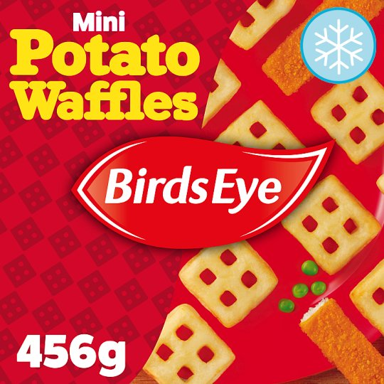Birds Eye Mini Potato Waffles 456G - Tesco Groceries