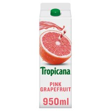 Tropicana Pink Grapefruit Juice 950 Ml