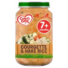 Cow And Gate Courgette And Hake Rice Jar 200G