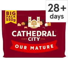 Cathedral City Mature Cheddar Cheese 550 G