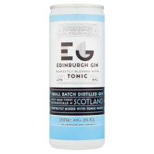 Edinburgh Gin And Tonic 250Ml
