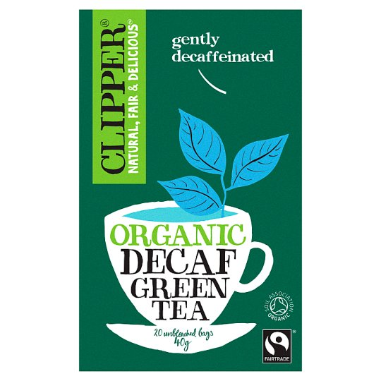 Clipper Organic Fairtrade Decaffeinated Green Tea 20'S