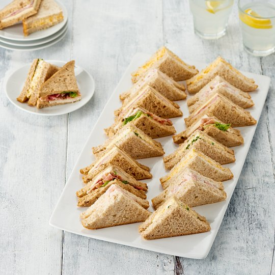 image 1 of Tesco Easy Entertaining 20 Classic Sandwich Platter