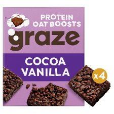 Graze Cocoa And Vanilla Bar 4 X 30G