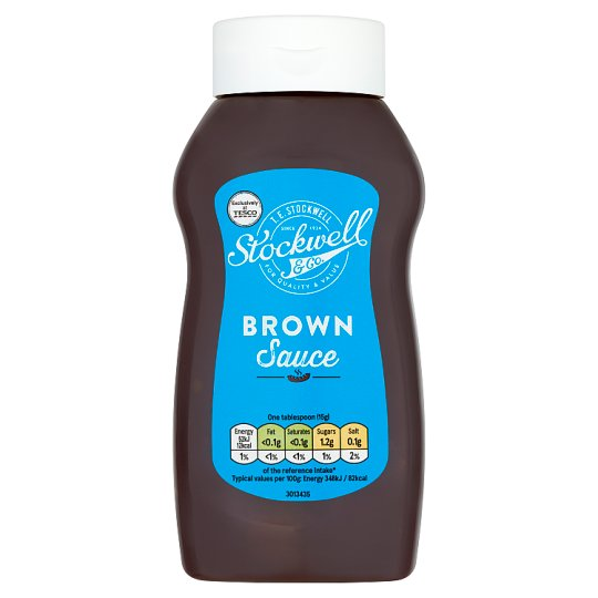 Stockwell And Co Brown Sauce 545G
