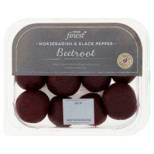 Tesco Finest Horseradish And Black Pepper Beetroot 180G
