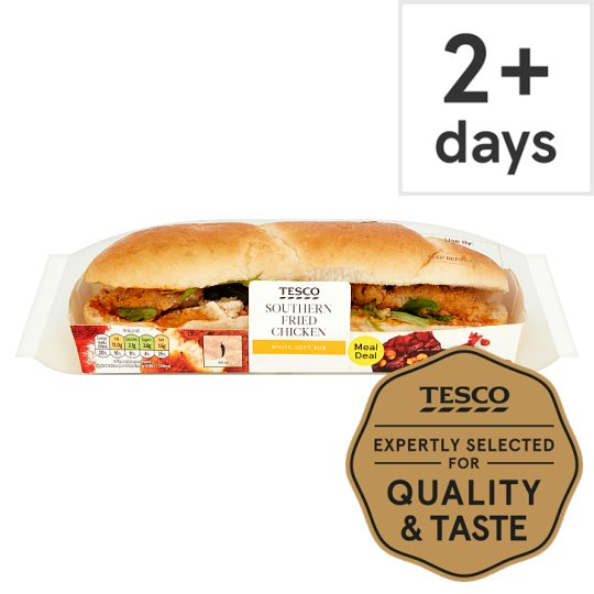 Tesco Southern Fried Chicken Sub