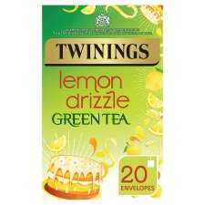 Twinings Green Tea Lemon Drizzle 20 Pack 40G