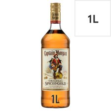 image 1 of Captain Morgan Original Spiced Gold 1 Litre