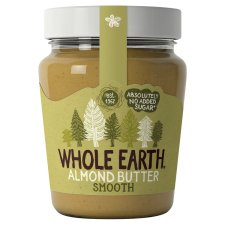 Whole Earth Almond Butter Smooth 227G
