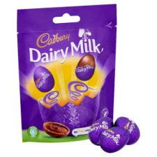 Cadbury Dairy Milk Chocolate Mini Eggs 86G