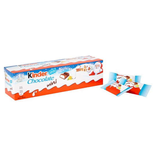Kinder Chocolate Tube 72G