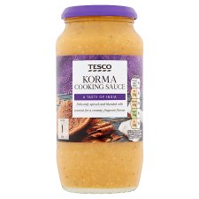 Tesco Korma Cooking Sauce 500G