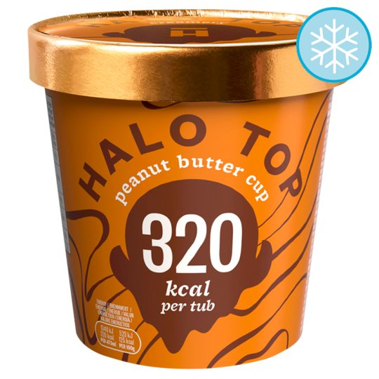 Halo Top Peanut Butter Cup Ice Cream 473Ml