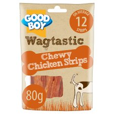 Good Boy Chewy Chicken Strips Dog Chew Treats 80G