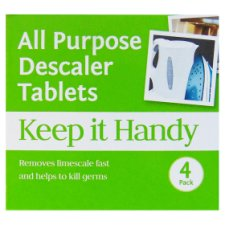 Keep It Handy All Purpose Descaler Tablets 4 Pack