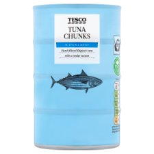 Tesco Tuna Chunks In Spring Water 4 X 145G