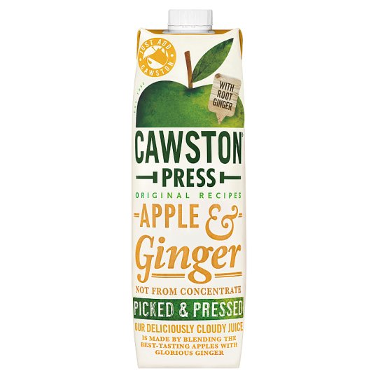 Cawston Press Apple And Ginger Juice 1 Litre