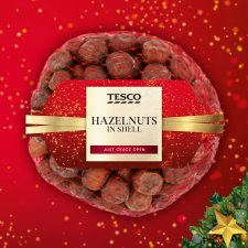 Tesco Hazelnuts In Shell 350G
