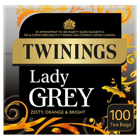 Twinings Lady Grey Tea Bags 100S 250G