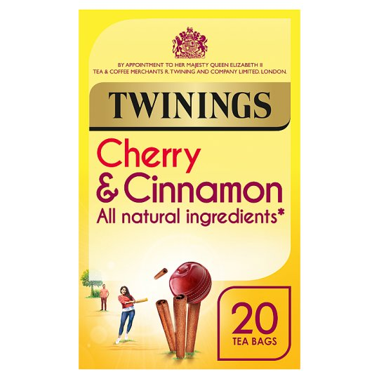 Twining's Cherry And Cinnamon Tea Bags 20'S 40G