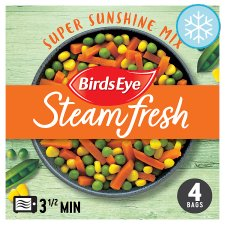 Birds Eye Steamfresh 4 Super Sunshine Mix Vegetable 540G