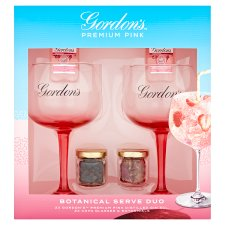 Gordon's Pink Gin And Glasses Gift Set