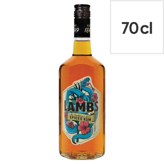 Lambs spiced rum 70cl groceries tesco groceries for What goes good with spiced rum
