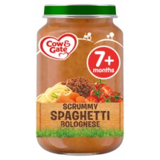 Cow And Gate Spaghetti Bolognese Jar 200G 7 Mth+