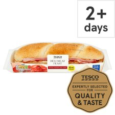 Tesco Deli Meat Feast Sub