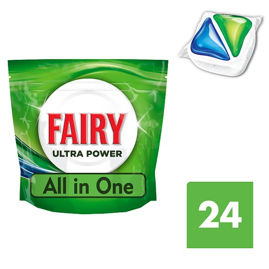 Fairy All In One Original Dishwasher Tablets 24'S