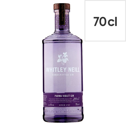 Whitley Neill Parma Violet Gin 43% 70Cl