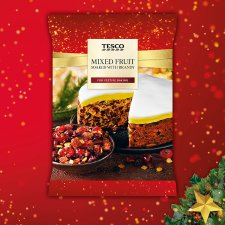 Tesco Luxury Mixed Fruit In Brandy 800G