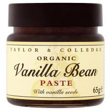 Taylor And College Organic Vanilla Bean Paste 65G