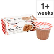 Bonne Maman Chocolate Mousse 2 X70g