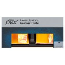 Tesco Finest 2 Pack Passion Fruit And Raspberry Torte