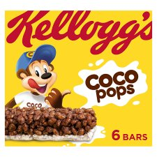 Kelloggs Coco Pops Cereal Bar 6 X 20G