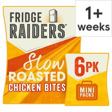 Fridge Raiders Slow Roasted Chicken Bites 6X22.5G