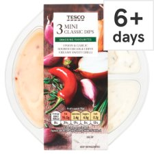 Tesco Classic Dip Selection 210G