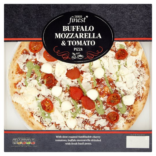 Tesco Finest Buffalo Margherita Pizza 411G