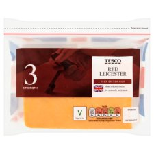 Tesco Red Leicester Cheese 460G