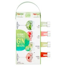 Gin Cocktail Mixers Gift Set