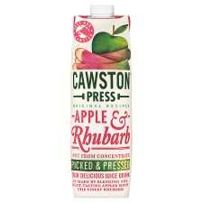Cawston Press Apple And Rhubarb Juice 1Ltr