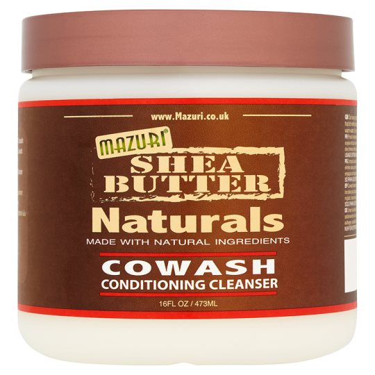 Mazuri Shea Butter Naturals Co-Wash Conditioner 473Ml